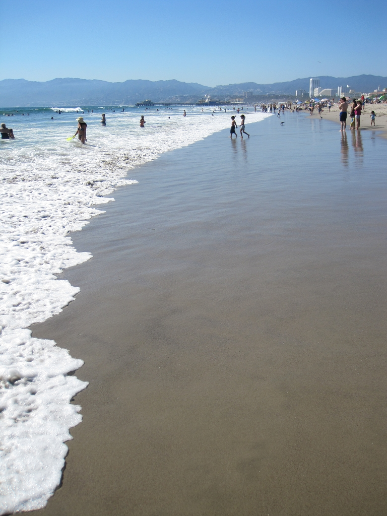 Santa Monica Beach in Los Angeles