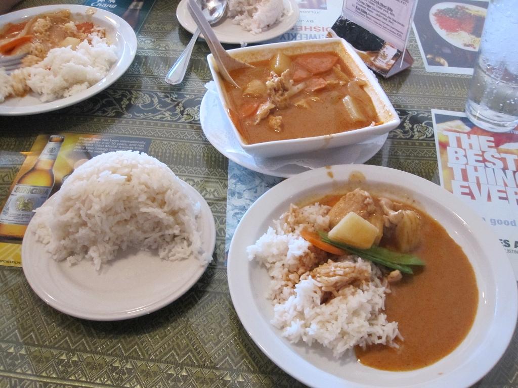 Thailändisch essen in Los Angeles