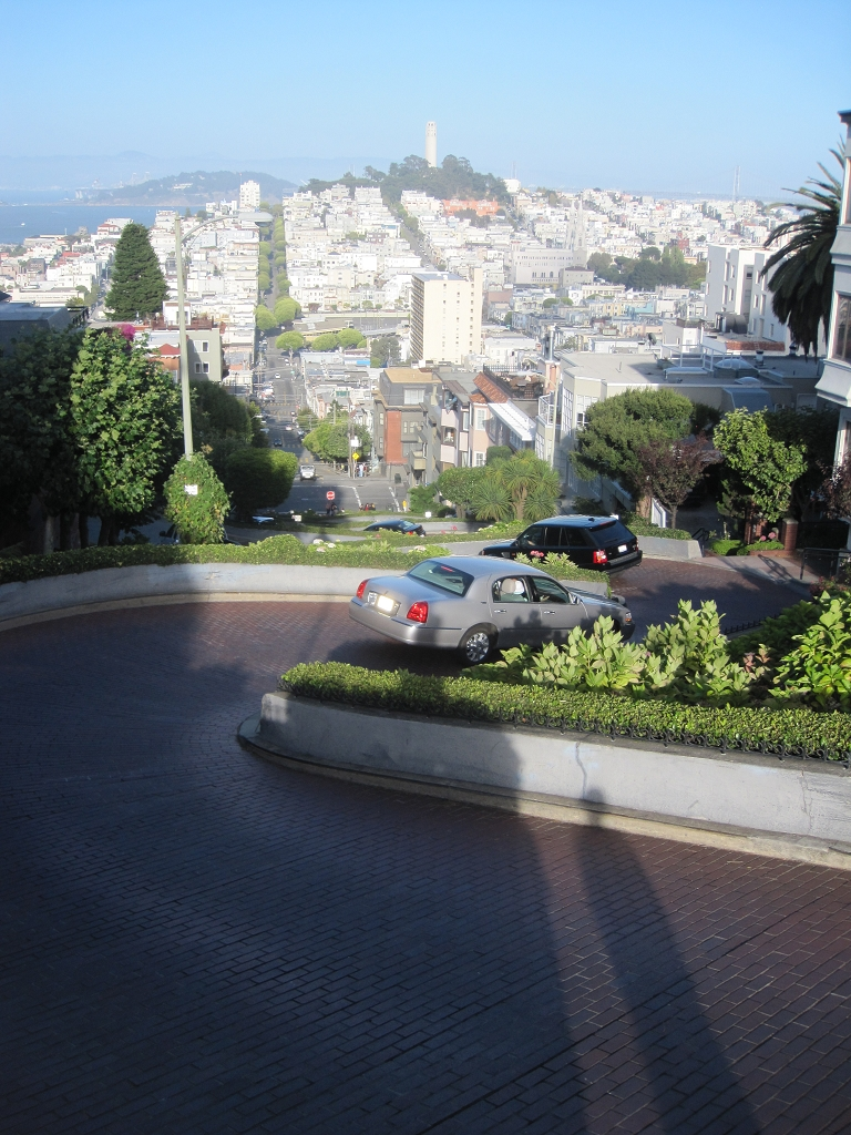 Lombart Street in San Francisco
