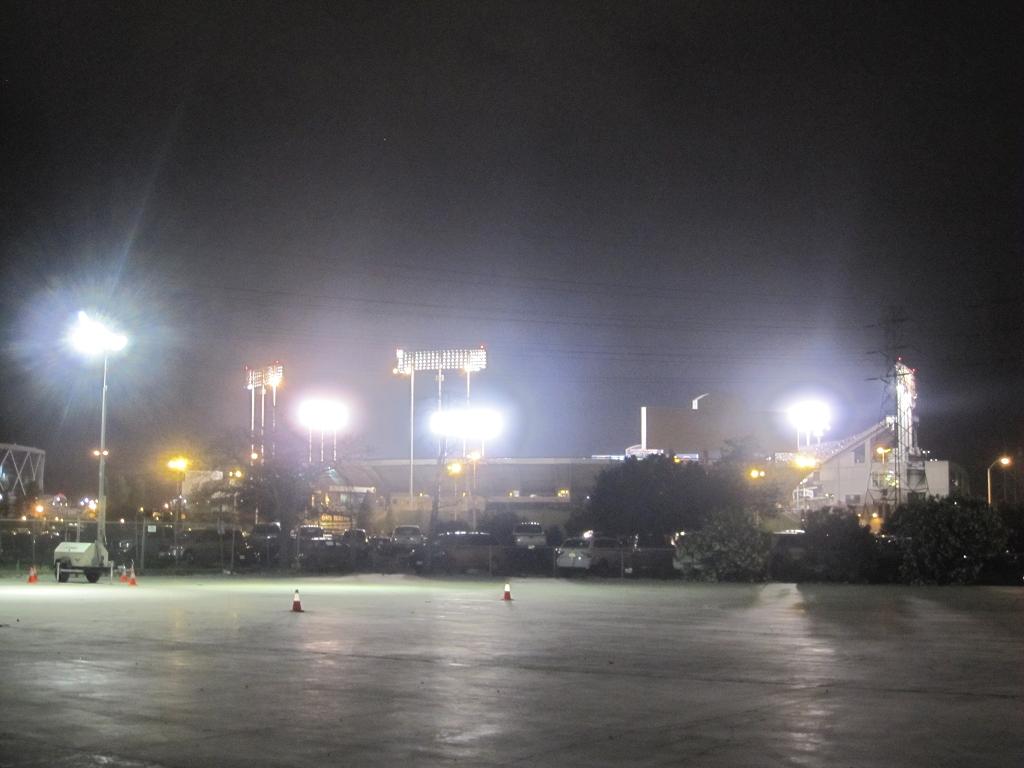 Raider Stadium in Oakland Kalifornien