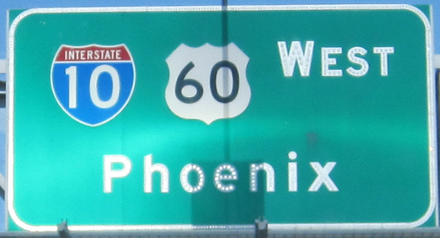 Phoenix Interstate Schild
