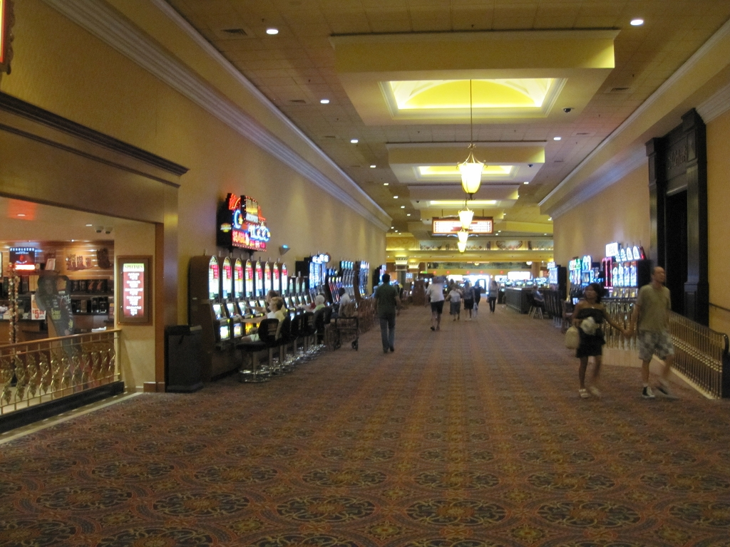 South Point Halle mit Spielautomaten in Las Vegas