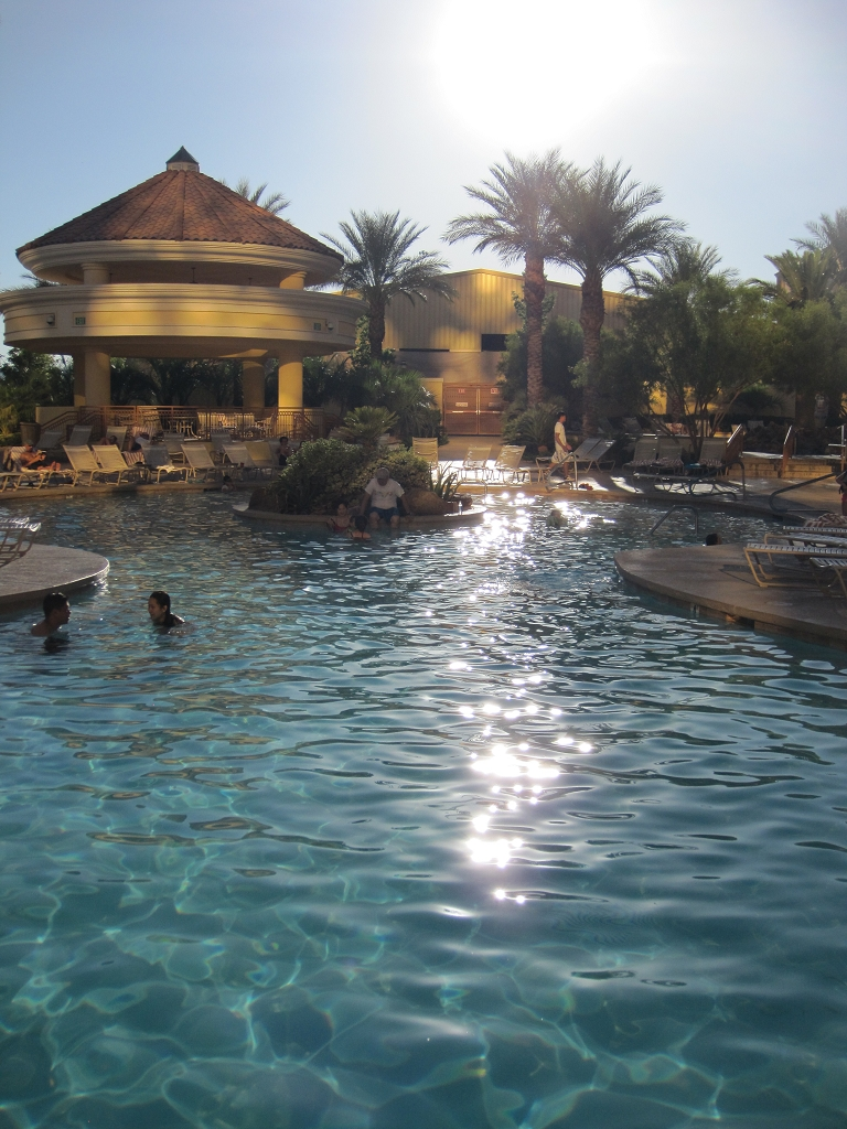 South Point Aussenpool in Las Vegas