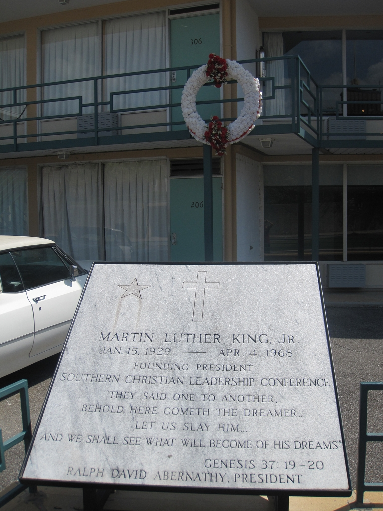 Martin Luther King Jr. - Memphis Lorraine Motel