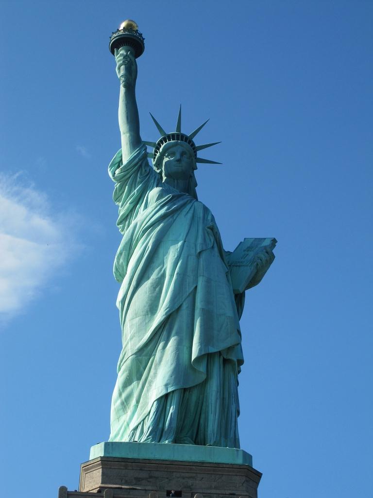 Miss Liberty - Freiheitsstatue von New York