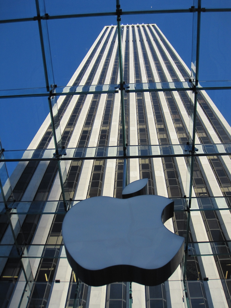 Apple Store in der 5th ave in New York City