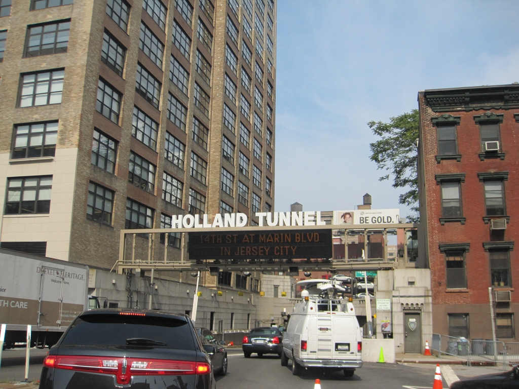 Holland Tunnel in Manhatten nach New Jersey