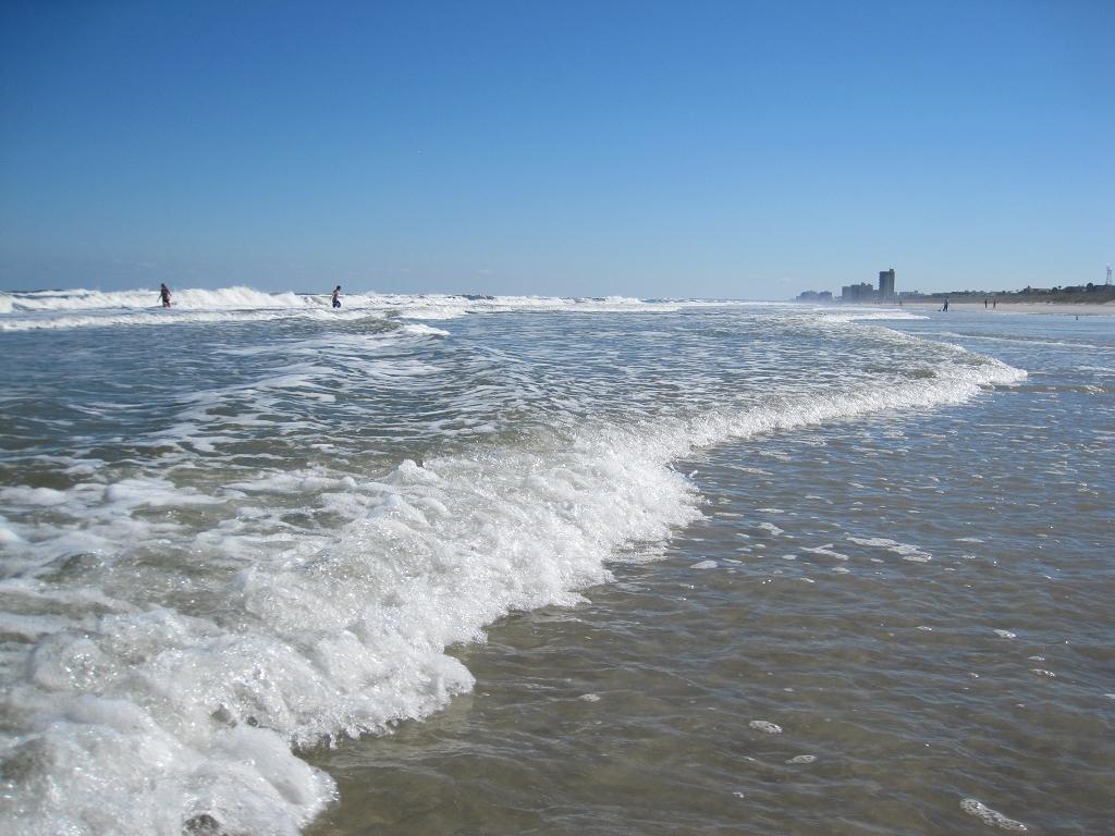 Beach of Jacksonville Florida