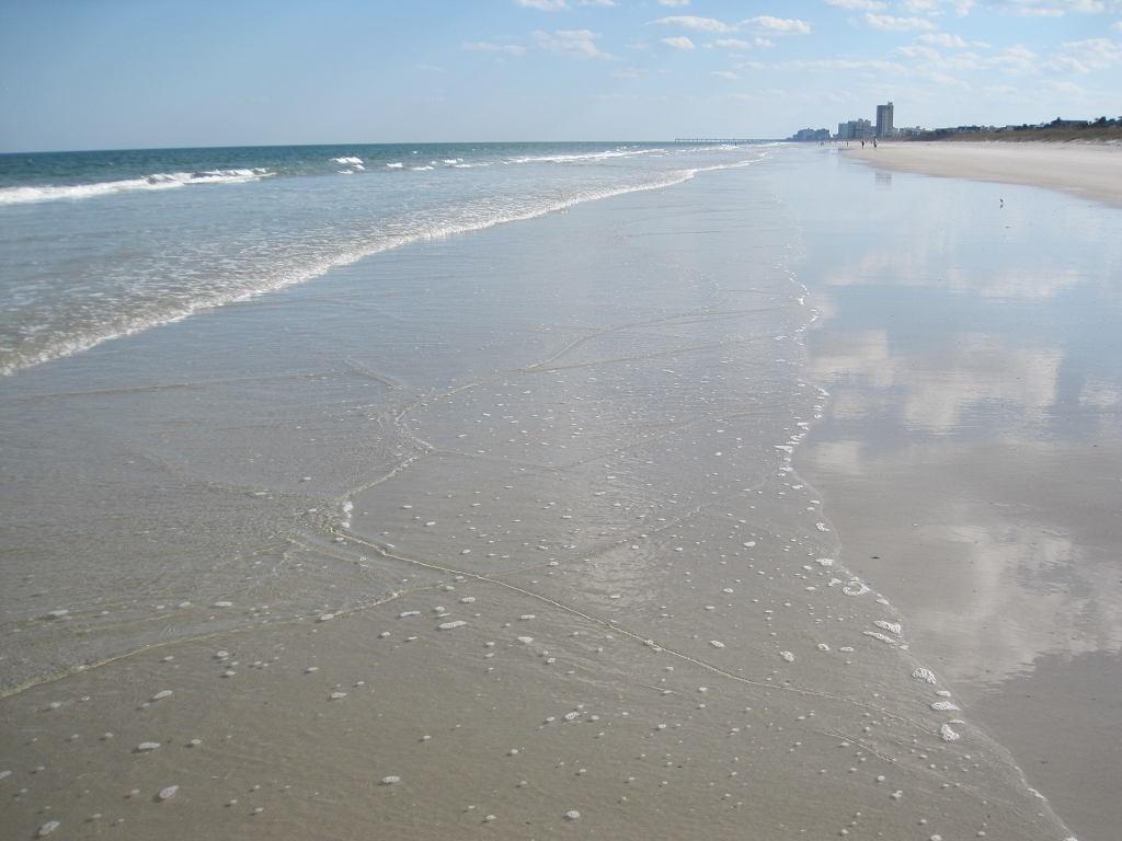 Strand von Jacksonville Florida - Atlantic Beach