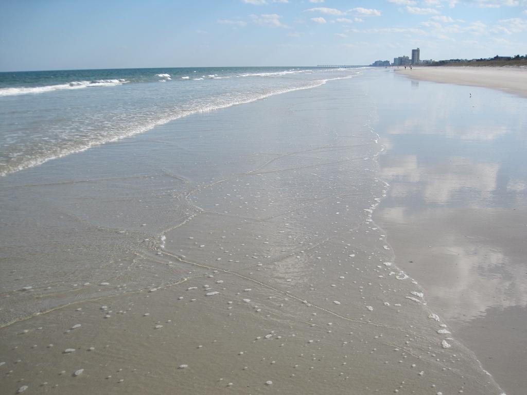 Strand von Jacksonville Florida - Atlantic Beach