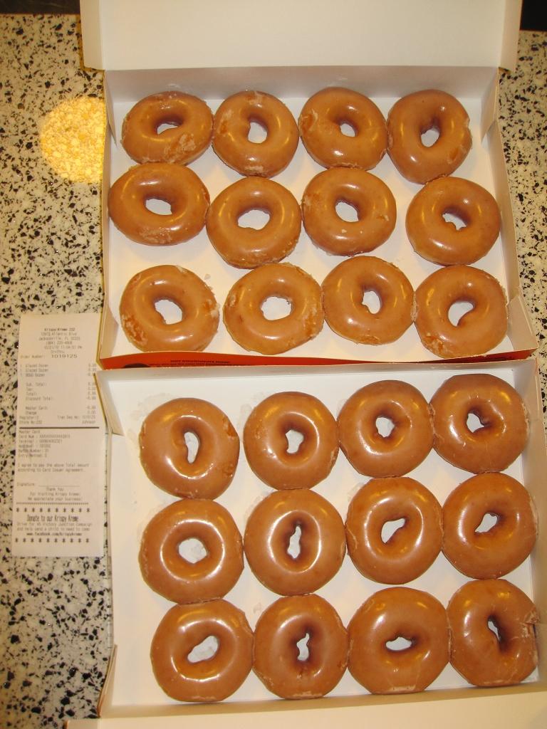 2 dutzend Donuts von Krispy Kreme für 6,99$
