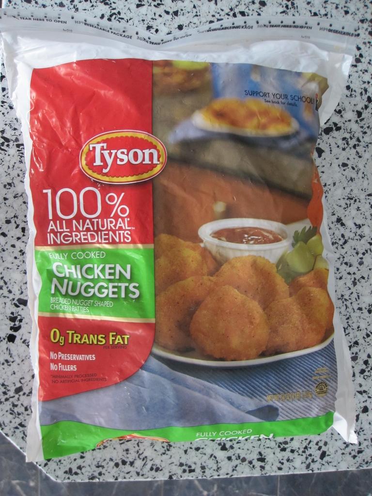 Chicken Nuggets mit 0g Trans Fat - gesättigten Fettsäuren