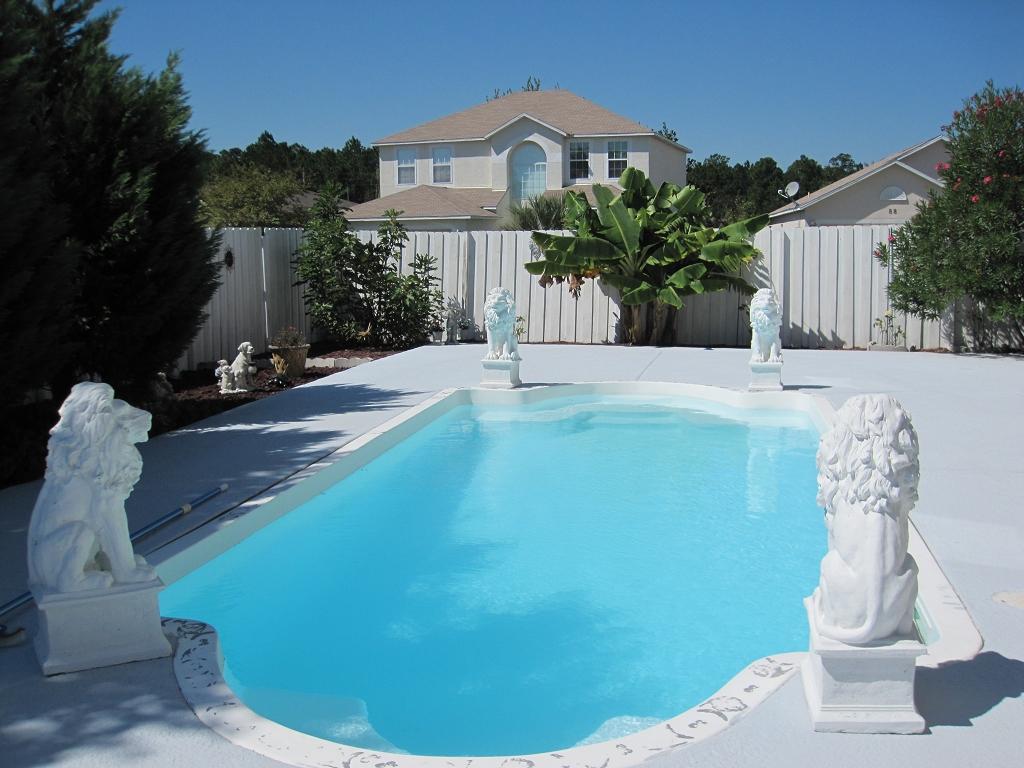 Pool in Florida - längste Badesaison in ganz USA