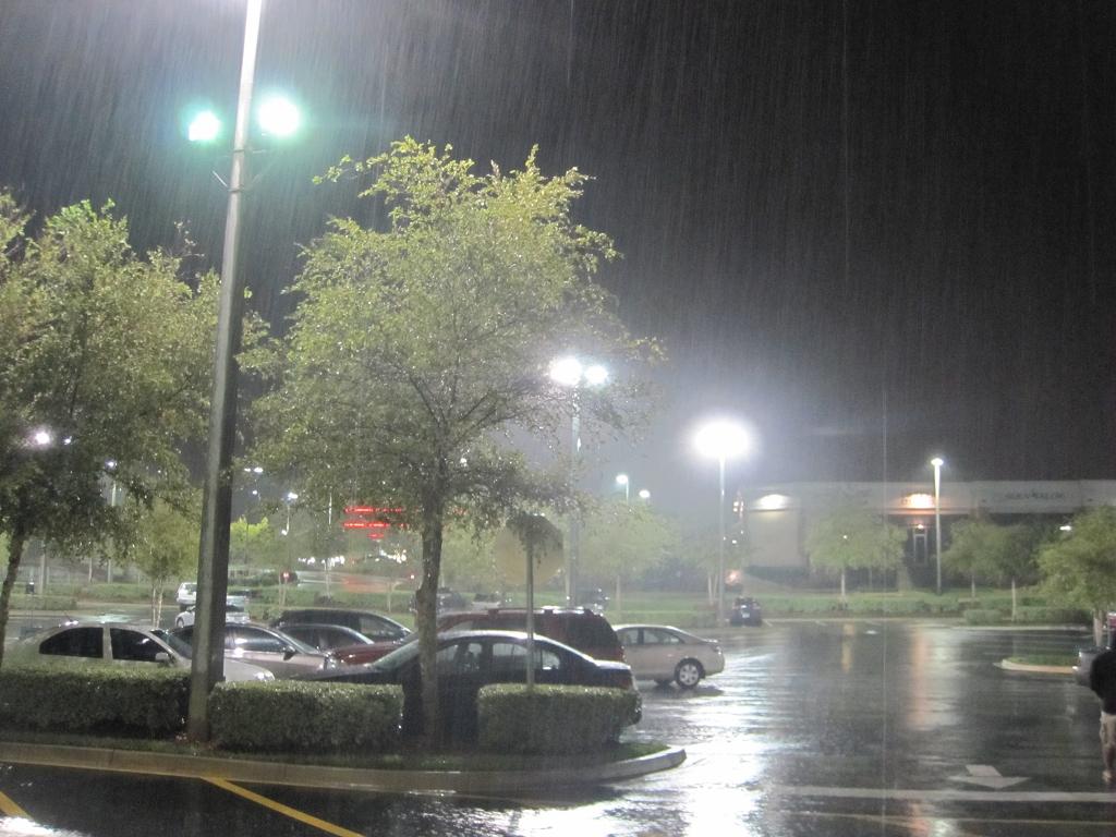 Regenwetter in Florida