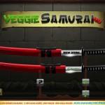 Veggie Samurai HD iPod App