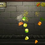 Veggie Samurai HD iPod App Gameplay