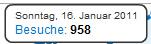 Besucherrekord - knapp 1.000 Beuscher am Tag