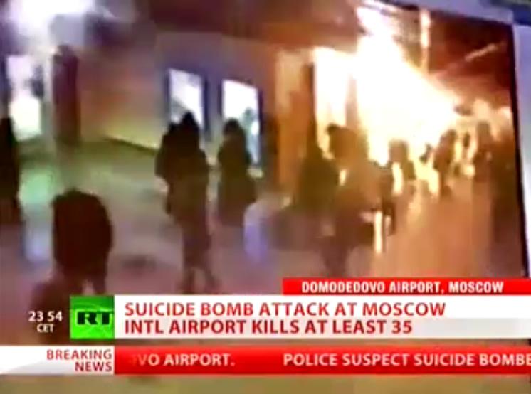 Terroranschlag Moskau Flughafen Domodedovo 24.01.2011