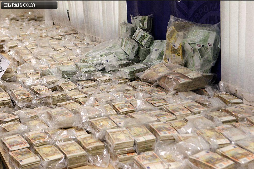 Grösster Bargeldfund bei einer Razzia