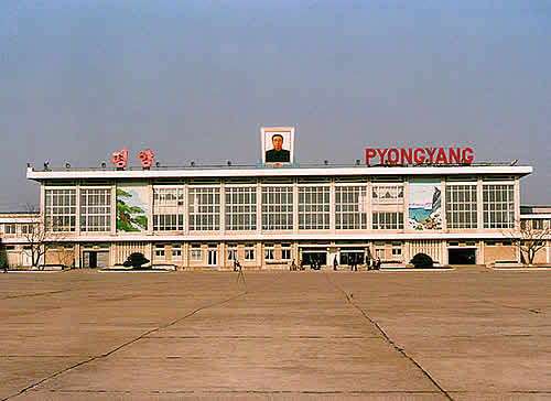 Airport Nord Korea