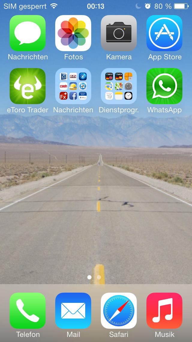 IOS 7 das neue Apple Design
