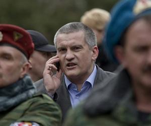Sergej Aksenow - Präsident de Halbinsel Krim