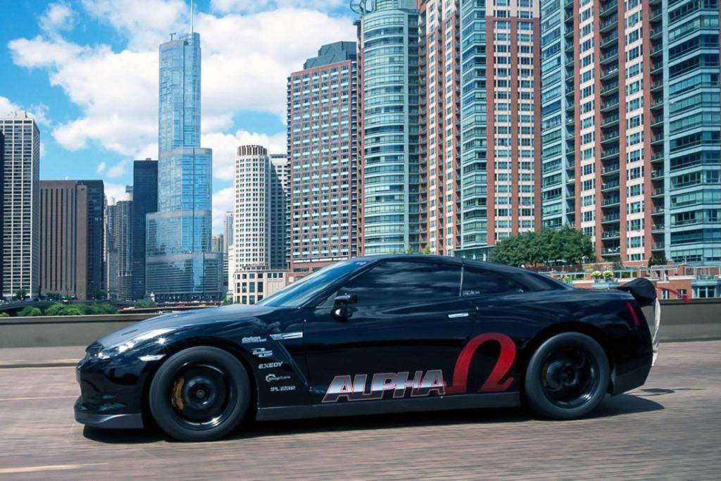 Nissan GTR AMS Alpha Omega 1700PS