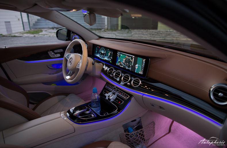 Mercedes E-Klasse W213 2016 Innenraum