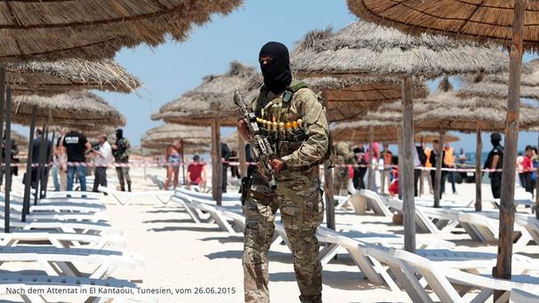 Terrorgefahr an europäischen Straenden