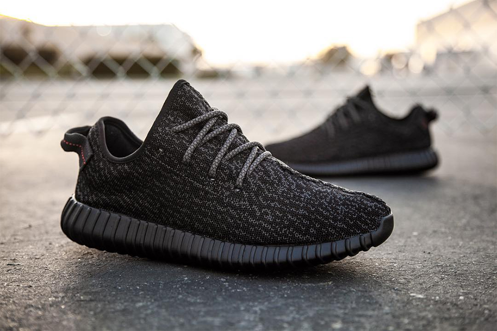 Adidas Yeezy Boost 350 Pirate Black Kanye West edition