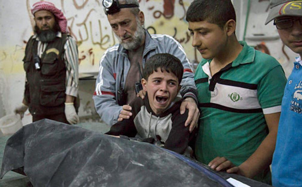 Majed 13 aus Aleppo Syrien