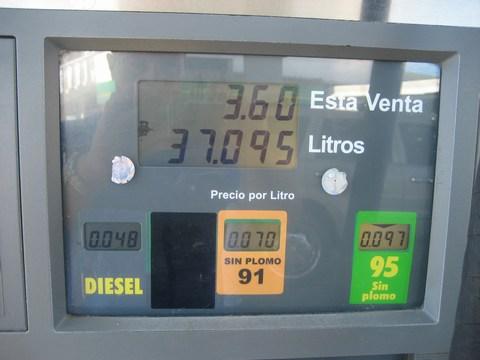 günstigsten Benzinpreis:Dieselpreis der Welt