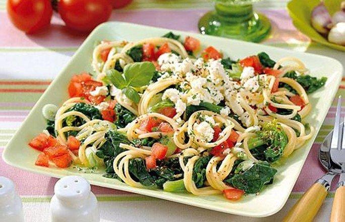 gesundes Mittagsessen