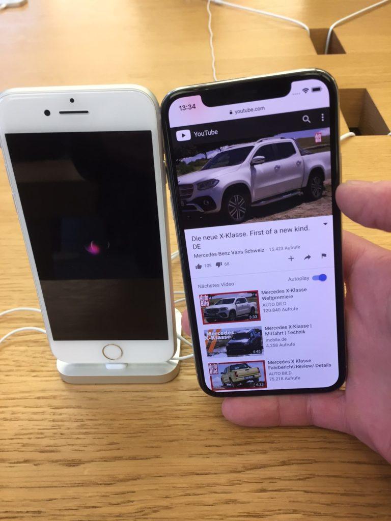 Iphone X direkt Vergleich Iphone 8