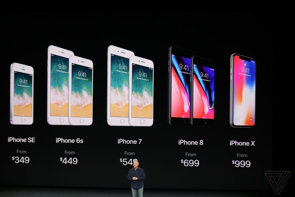 Iphone x Iphone 8 Preise - Wuelle: tapptic.com